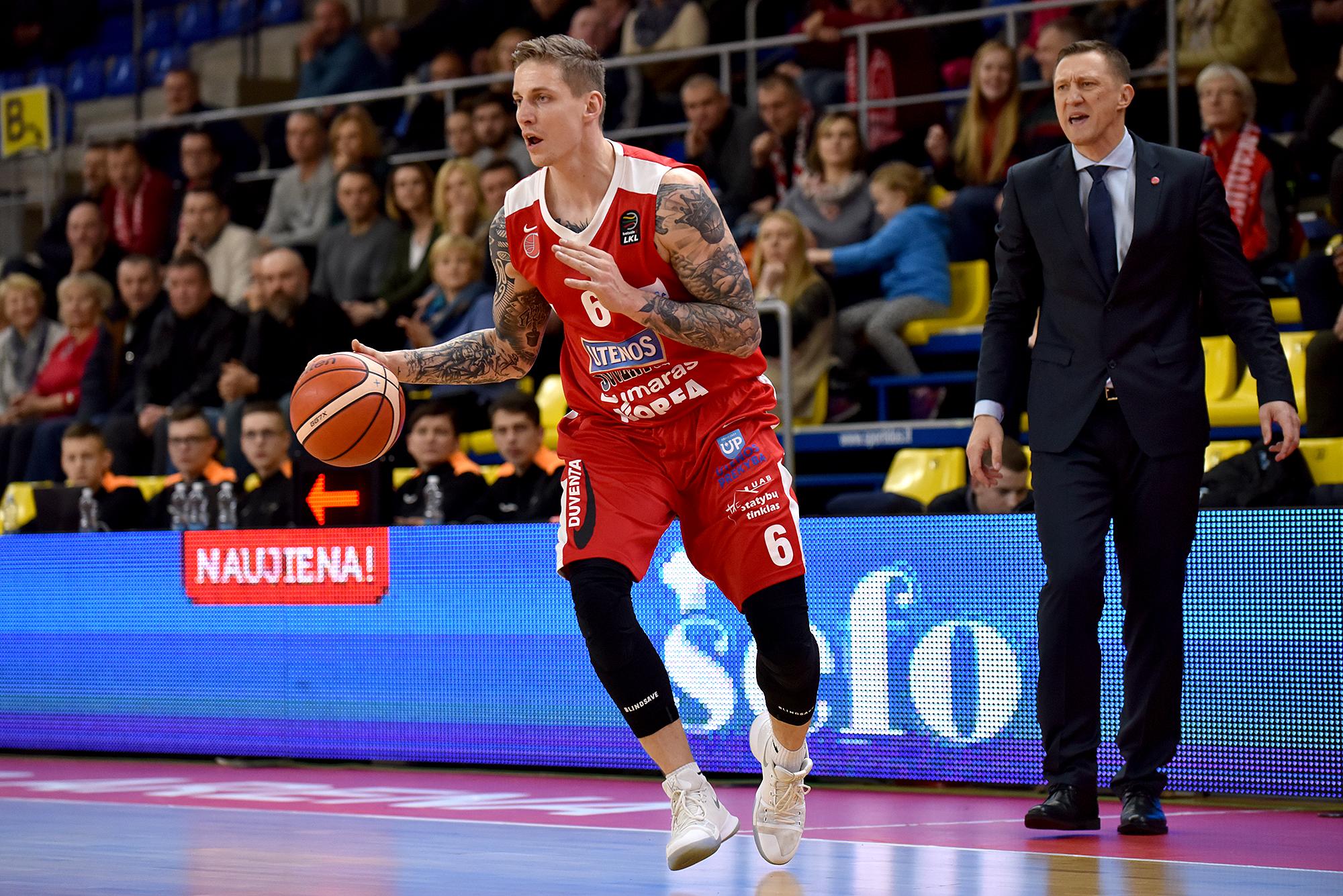 Į Uteną atvyksta geriausia FIBA Čempionų lygos komanda